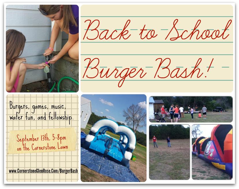 Back to School Burger Bash 2015